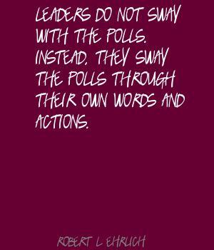 Robert. L. Ehrlich's quote #2