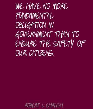 Robert. L. Ehrlich's quote #7