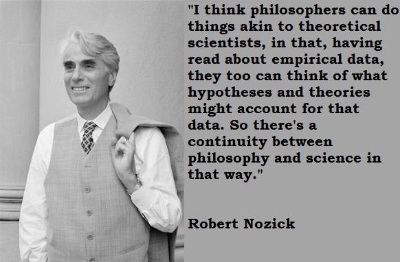 Robert Nozick's quote #1