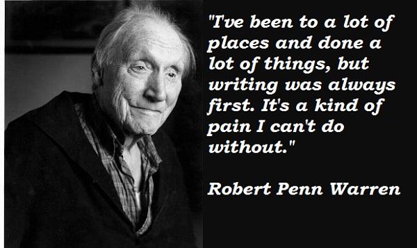 Robert Penn Warren's quote #1