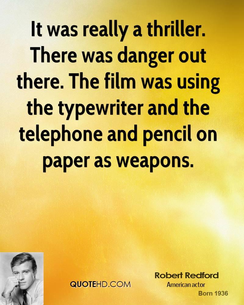 Robert Redford quote #1