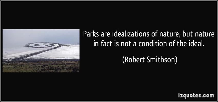 Robert Smithson's quote #1