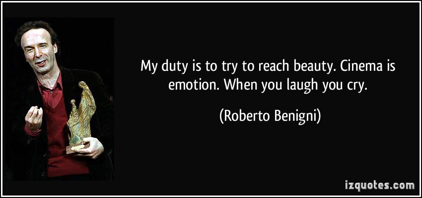 Roberto Benigni's quote #1
