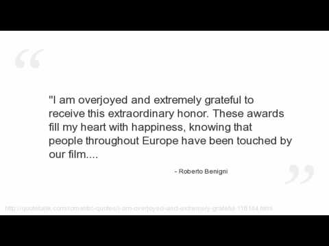 Roberto Benigni's quote #8