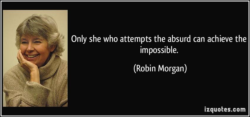 Robin Morgan's quote #7