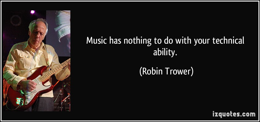 Robin Trower's quote #2