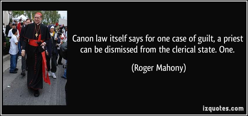 Roger Mahony's quote #4