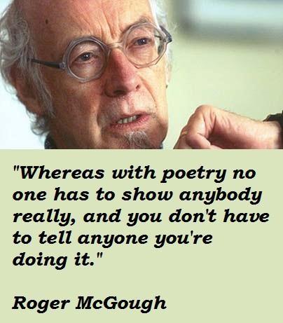 Roger McGough's quote #5
