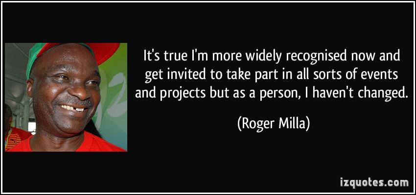 Roger Milla's quote #6