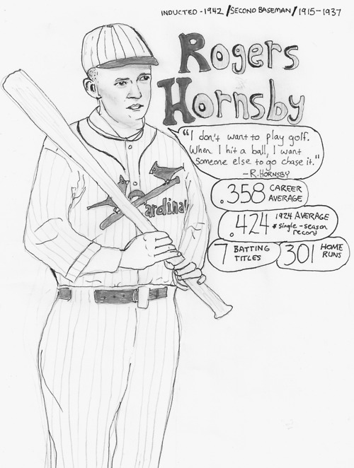 Rogers Hornsby's quote #4