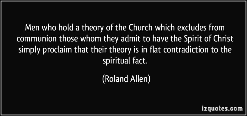 Roland Allen's quote #2