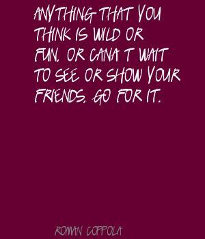Roman Coppola's quote #8
