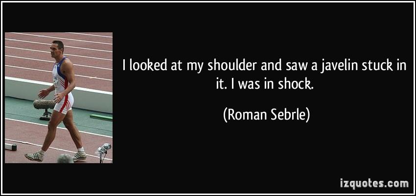 Roman Sebrle's quote #1
