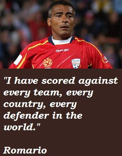 Romario's quote #1