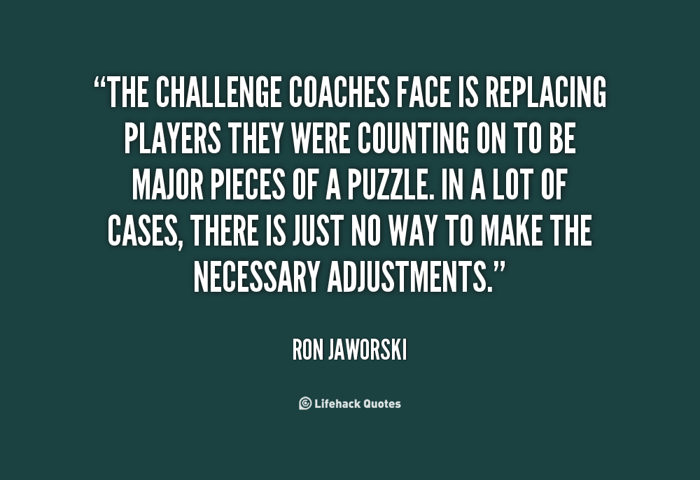 Ron Jaworski's quote #3