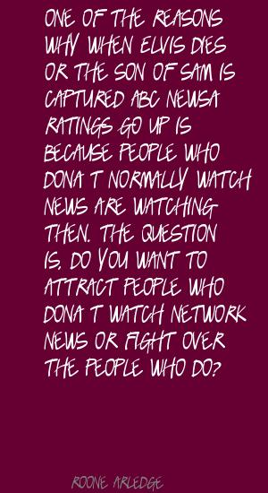 Roone Arledge's quote #5