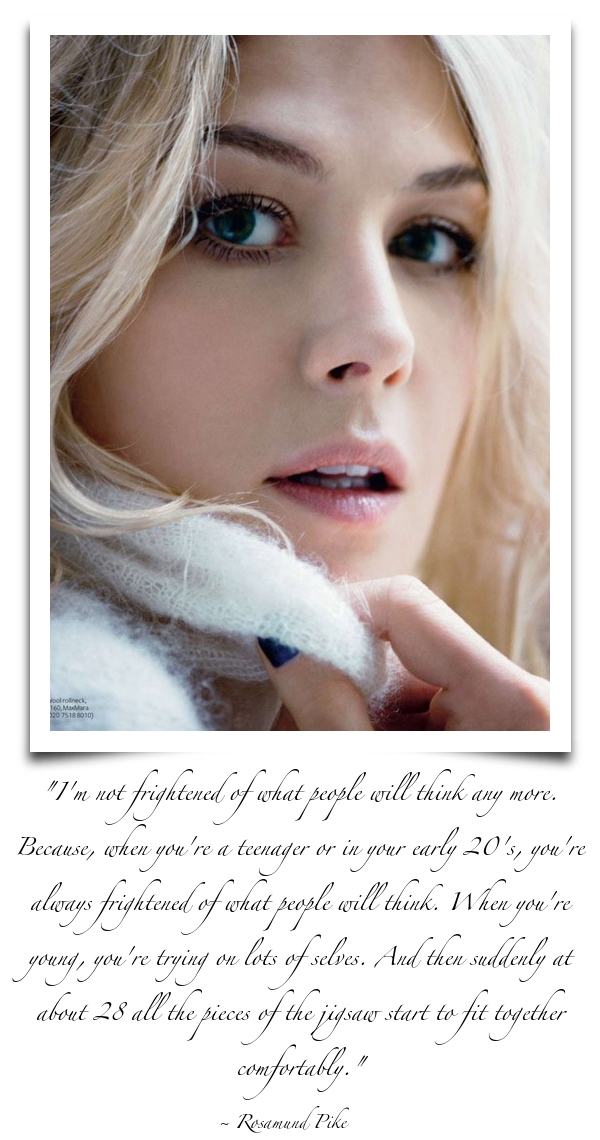 Rosamund Pike's quote #1