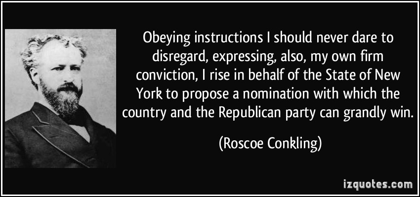 Roscoe Conkling's quote #2