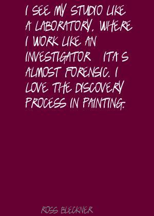 Ross Bleckner's quote #1