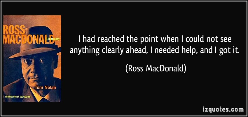 Ross MacDonald's quote #6