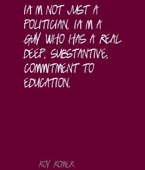 Roy Romer's quote #5