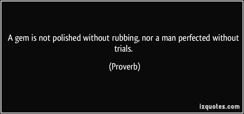 Rubbing quote #1