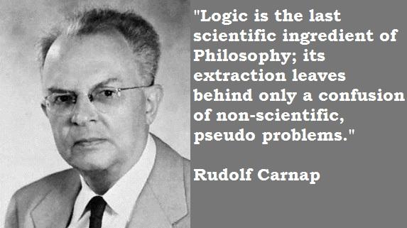 Rudolf Carnap's quote #1