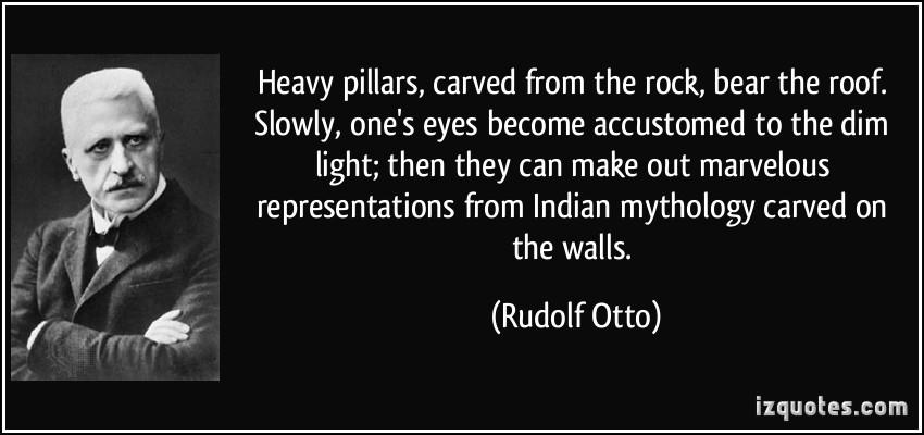 Rudolf Otto's quote