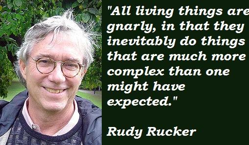 Rudy Rucker's quote #1