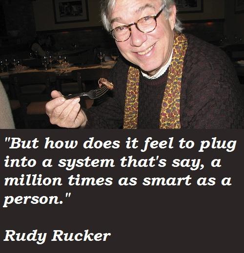 Rudy Rucker's quote #3
