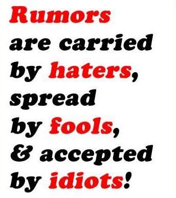 Rumors quote #8