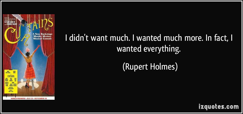 Rupert Holmes's quote #1
