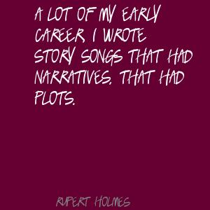 Rupert Holmes's quote #2