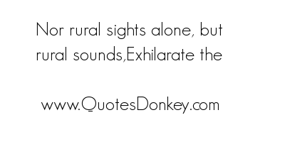 Rural quote #2