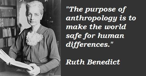 Ruth Benedict's quote #1