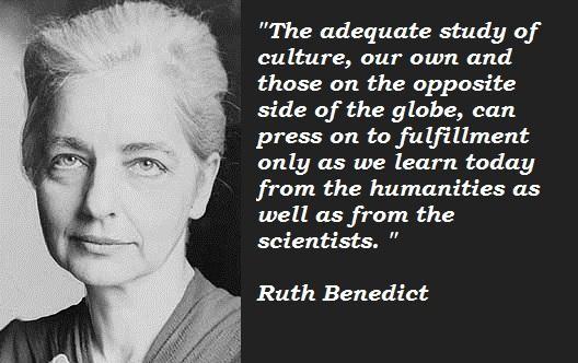 Ruth Benedict's quote #6