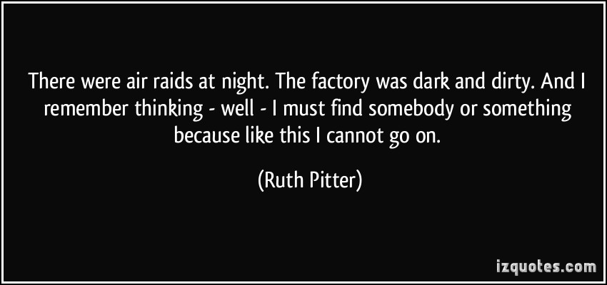 Ruth Pitter's quote #2