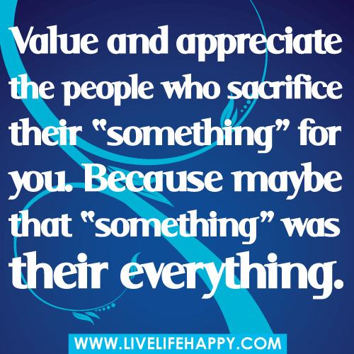 Sacrificed quote #2