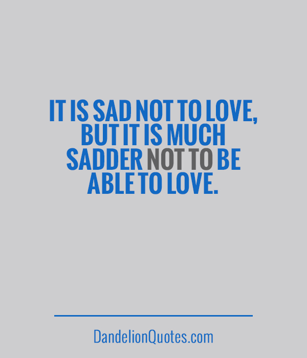 Sadder quote #2