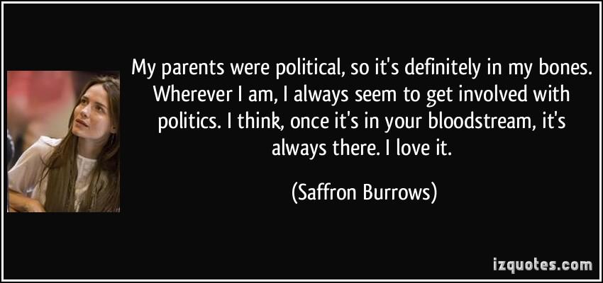 Saffron Burrows's quote #1