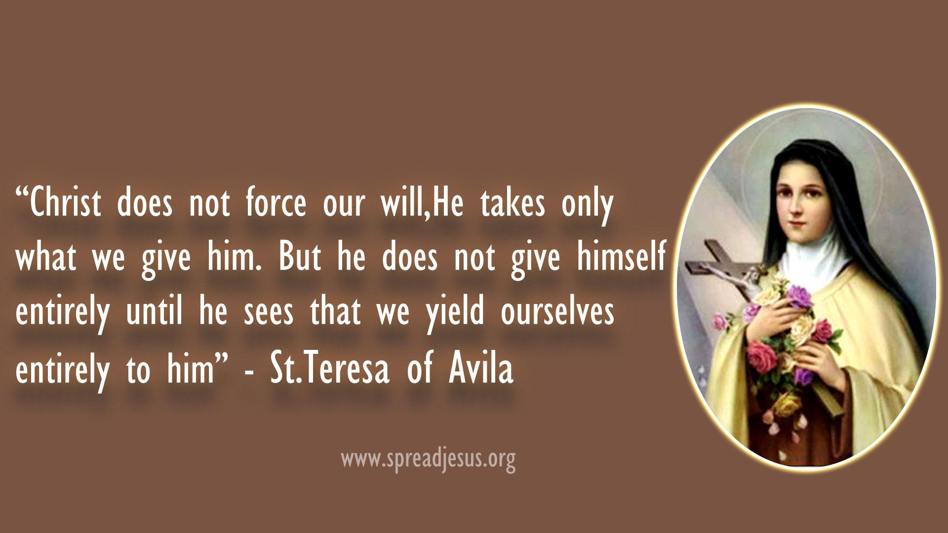 Saint Teresa of Avila's quote #7