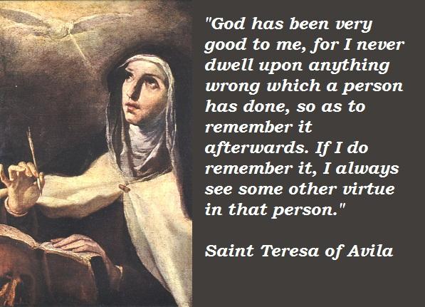 Saint Teresa of Avila's quote #8