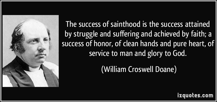 Sainthood quote #1