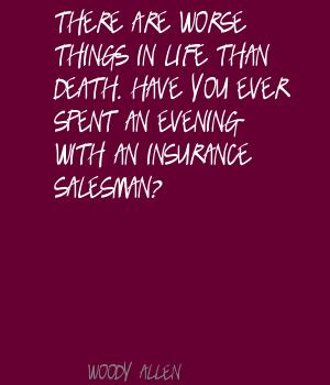 Salesman quote #1