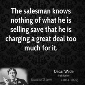 Salesman quote #2