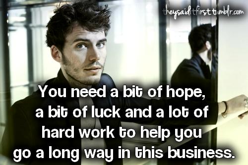 Sam Claflin's quote #1