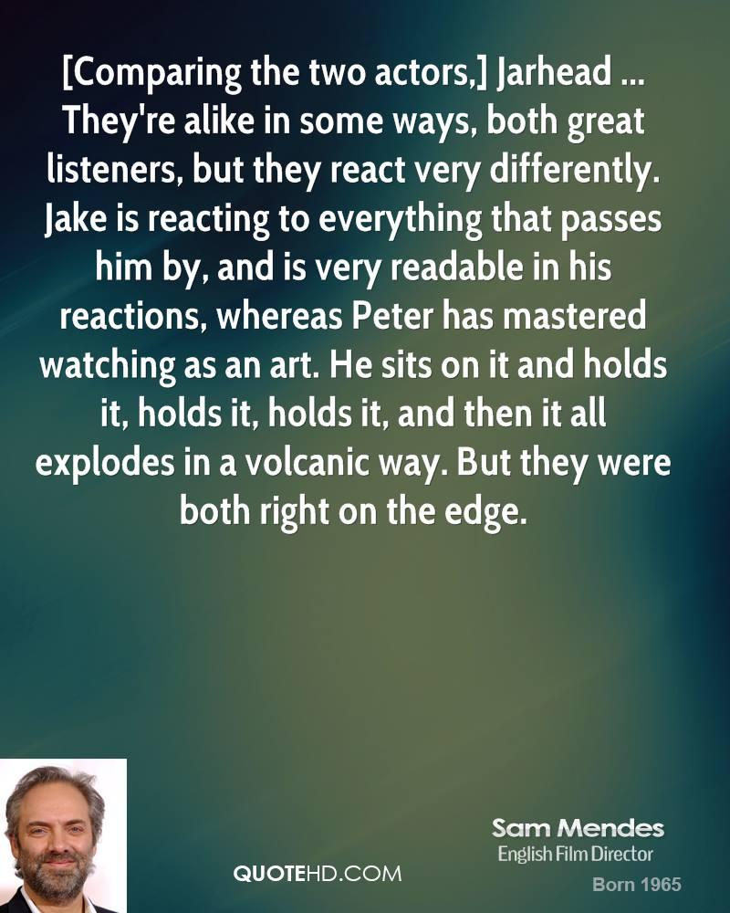 Sam Mendes's quote #2