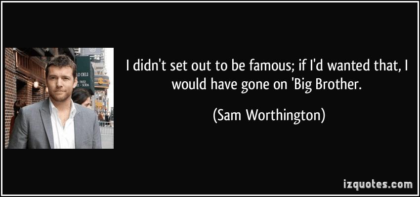 Sam Worthington's quote #2
