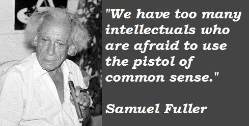 Samuel Fuller's quote #1