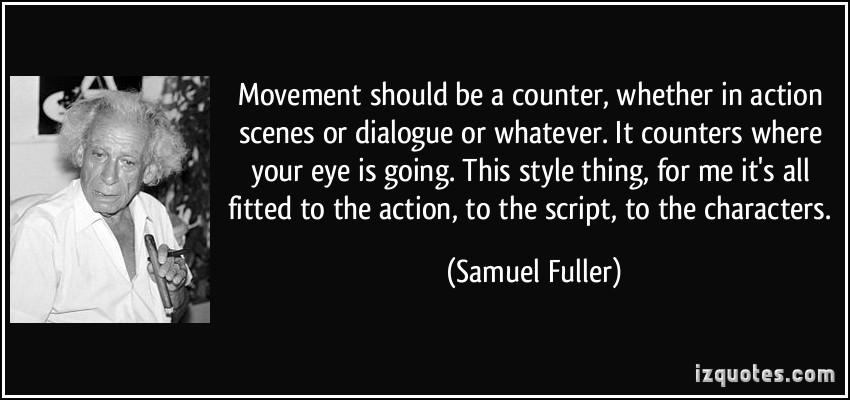 Samuel Fuller's quote #3